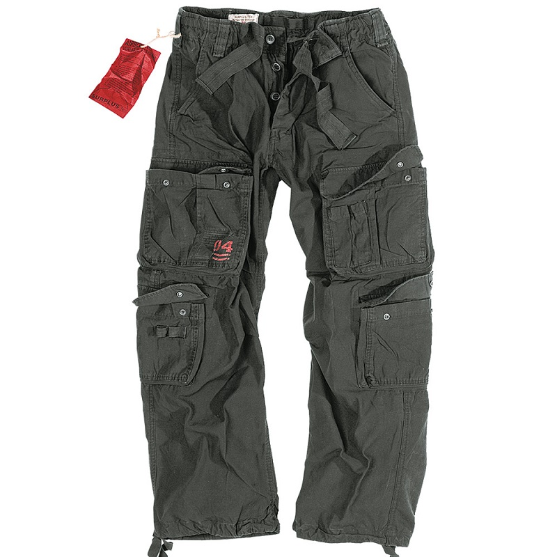 Брюки Airborne Vintage Trousers Black